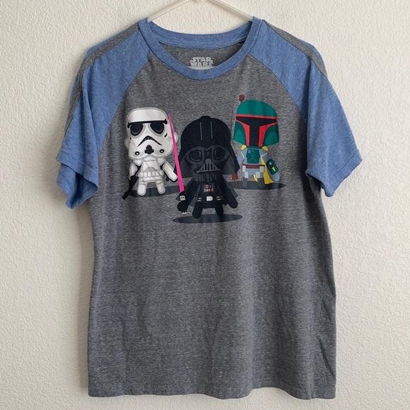 Star Wars Character Remix Short Sleeve Tee